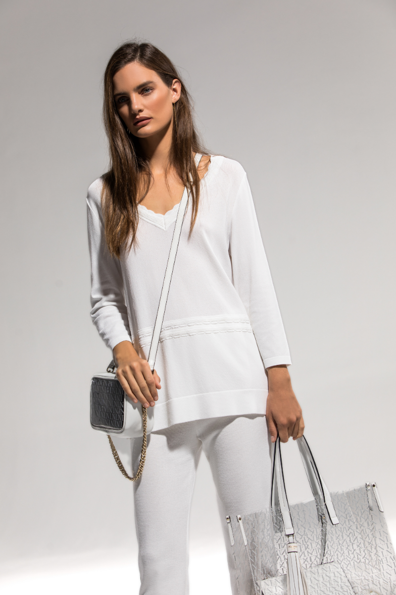 Total look blanco Naulover