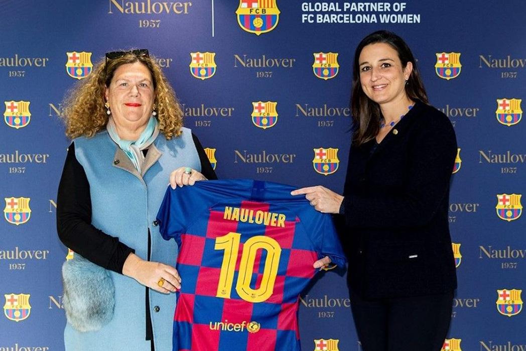 Naulover vestirá las jugadoras del Barça Femení